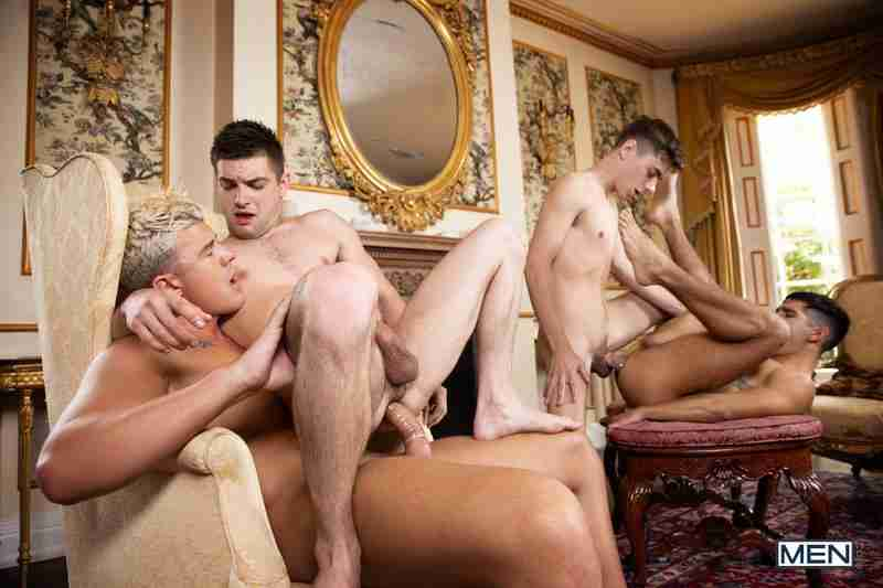 "Johnny Rapid, JJ Knight, Ty Mitchell, Joey Mills ""A Tale Of Two Cock Destroyers Episode 4"""