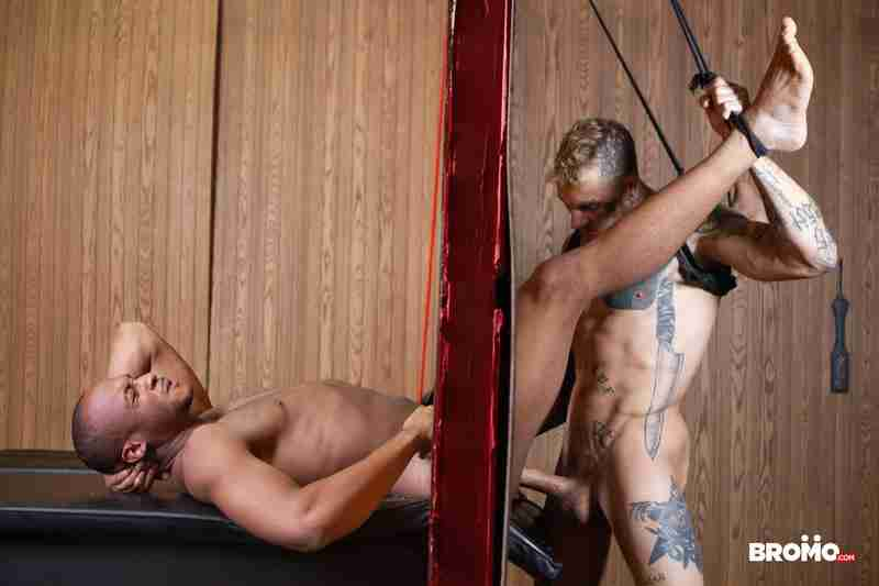 "Bo Sinn, Trent King ""Wall Stuffed Part 2"" [Bareback]"
