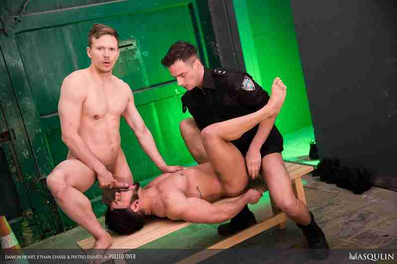 "Ace Quinn, Damon Heart, Pietro Duarte ""Pulled Over"""