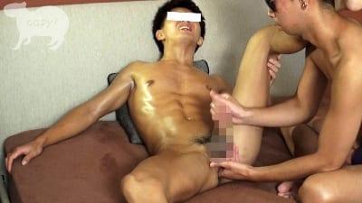 Men's Rush.TV – CAPY-367 – 初登場!!水泳経験者で色黒腹筋バキバキ迅人(はやと)22歳!!