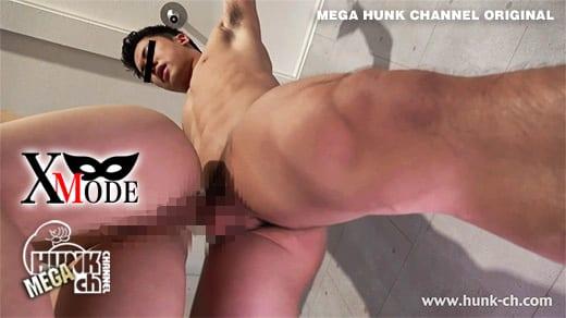HUNK CHANNEL – XM-0039 – Xに拘束されたノンケの勃起雄魔羅筋肉棒を性女が喰い尽くす!!!どんなに責められても勃起が治まらない極Mデカマラ宏昭(ひろあき)くん22歳!!鍛え上げられた筋肉に形のエロいデカマラは何をされても感じます!!!