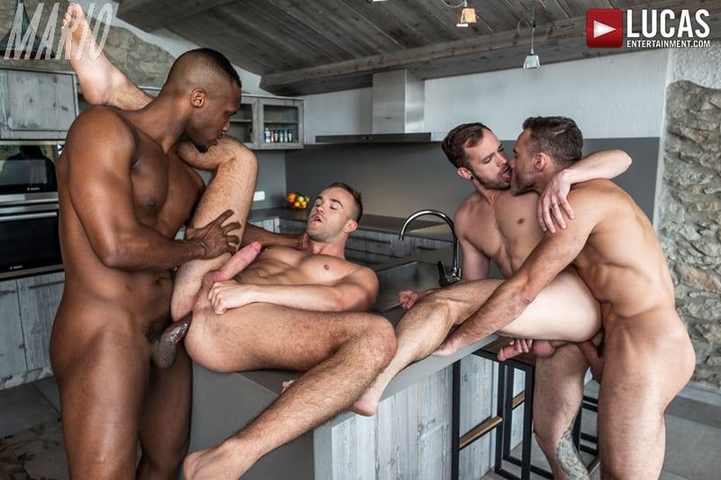 Manuel Skye and Andre Donovan Dominate Jackson Radiz and Drake Rogers [Bareback]